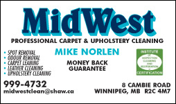 MidWest Professional Carpet & Upholstery Cleaning