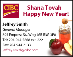 CIBC for Jewish New Year