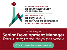 Canadian Friends of Hebrew University