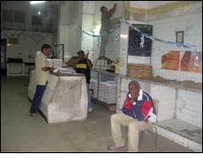 Store distributing eggs in Old Havana