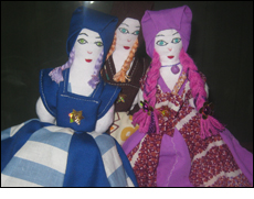 Dolls made by seniors