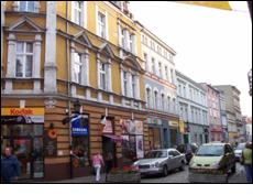 Leszno Street in Warsaw, Poland today