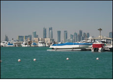 Scenic view in Doha, Qatar
